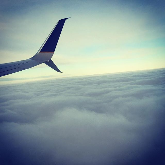 Denver, mile high city in the clouds