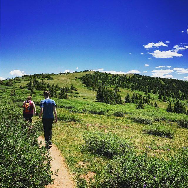 Shrine ridge trail hike