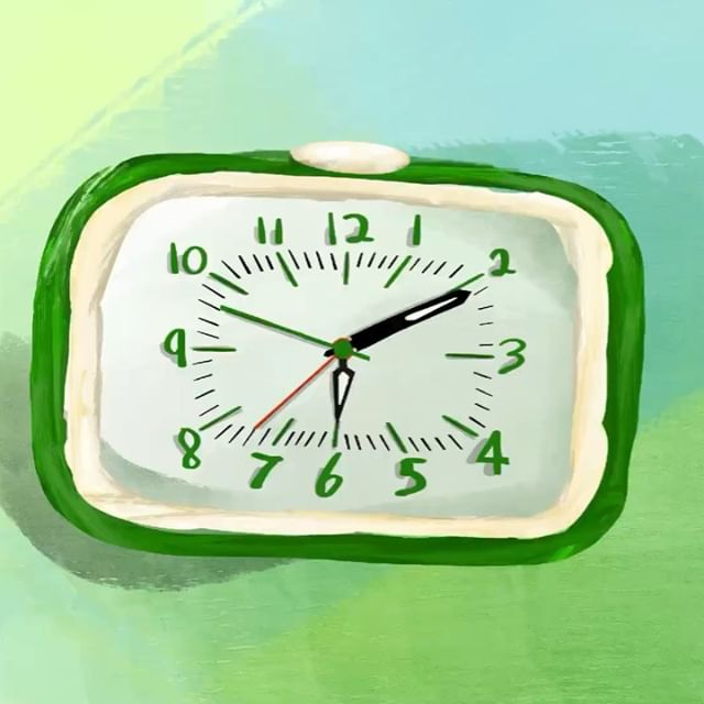 The Kikkerland Clock <br /> . . . .</p>  <h1 id=